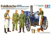 Tamiya 35247 German Field Kitchen Scenery (1:35)