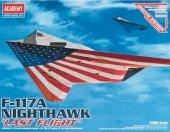 Academy 12219 American stealth fighter Lockheed F-117A Nighthawk (1:48)