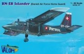 Valom 48013 BN-2B Islander (Danish Air Force Home Guard) 1/48