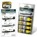 Ammo of Mig Jimenez 7210 LUFTWAFFE WWII EARLY COLORS 4x17ml