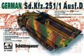 AFV Club 35063 Sd.Kfz. 251 ausf.D (1:35)