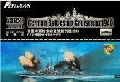 Flyhawk FH1149S German Battleship Gneisenau (Deluxe Edition) 1940 1/700