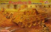 Dragon 6428 Panther D w/Zimmerit (1:35)