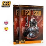 AK Interactive AK 241 FLESH & SKIN: Techniques to paint all types of flesh in miniatures