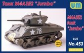 Unimodels 453 M4A3E2 tank Jumbo 1/72