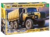 Zvezda 3654 Rusiian army truck URAL-4320 (1:35)