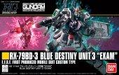 Bandai 22620 Blue Destiny Unit 3 Exam Gundam 80573