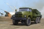 Trumpeter 01032 Russian 9P138 Grad-1 on Zil-131 (1:35)