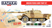 Hataka HTK-AS25 Modern French Army paint set Modern French Army paint set