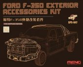 Meng Model SPS-047 Ford F-350 Exterior Accessories kit 1/24