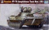 Trumpeter 00379 Russian PT-76 Light Amphibious Tank Mod.1951 (1:35)