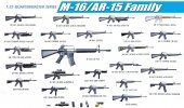 Dragon 3801 M-16/AR-15 Family (1:35)
