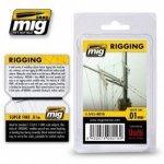 AMMO of Mig Jimenez 8016 RIGGING – SUPER FINE 0.01 MM
