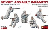 MiniArt 35226 SOVIET ASSAULT INFANTRY (WINTER CAMOUFLAGE CLOAKS) (1:35)
