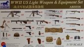 Bronco AB3558 WWII US Light Weapon and Equipment Set 1/35