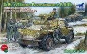 Bronco CB35033 Sd.Kfz.221 Armored Car w/PzB41 (1:35)