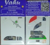 Yahu Models YMA4884 for B-17G HK Models 1/48
