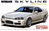 Fujimi 03443 Nissan Skyline Gt-R R34 (1:24)