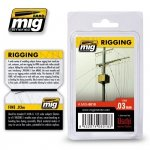 AMMO of Mig Jimenez 8018 RIGGING – FINE 0.03 MM