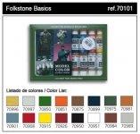 Vallejo  FOLKSTONE BASICS (16 color set) (70101)