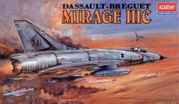 Academy 12247 Mirage III-C (1:48)