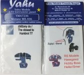 Yahu YMA7236 MS.406 (RS) 1:72