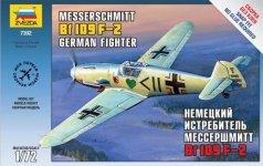 Zvezda 7302 Messerschmitt Bf-109 F2 (1:72)