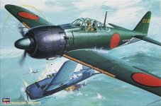 Hasegawa ST4 A6M5c Zero Fighter (1:32)