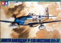 Tamiya 61040 North American P-51D Mustang 8th AF (1:48)
