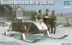 Trumpeter 02322 Soviet Aerosan RF-8 1:35