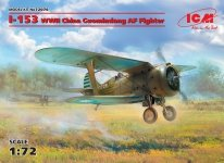 ICM 72076 I-153, WWII China Guomindang AF Fighter (1:72)