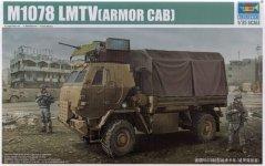 Trumpeter 01009 M1078 LMTV(ARMOR CAB) (1:35)