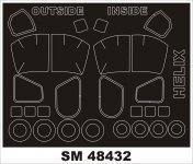 Montex SM48432 Ka-27 HELIX HOBBY BOSS
