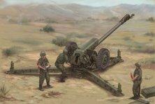 Trumpeter 02329 Soviet D-30 122mm Howitzer - Late Version (1:35)