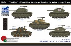 Bronco CB35072 Bronco M-24 Chaffee (Post-War Version) Serv. In Asia Army (1:35)