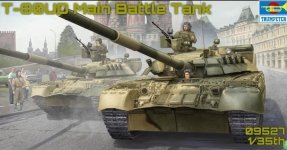 Trumpeter 09527 Russian T-80UD MBT 1/35