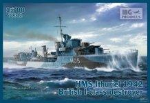 IBG 70012 HMS Ithuriel 1942 British Destroyer 1/700