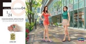 Hasegawa FC04 Fashion Model Girls Figure 1/24