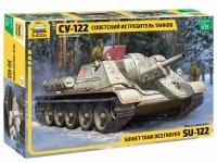 Zvezda 3691 SU-122 Soviet self propelled gun WWII  1/35