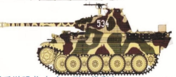 Border Model BD0028 Camo-mask of Panther A/G 1/35
