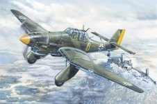 Trumpeter 02420 Junkers Ju-87A Stuka 1/24