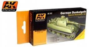 AK Interactive AK 552 German Dunkelgelb. Special Modulation Set