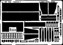 Eduard 35105 Sd. Kfz.7 1/35 Tamiya