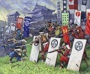 Zvezda 8017 Samurai warriors (1:72)