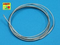 Aber TCS12 Stainless Steel Towing Cables 1,2mm, 1m long