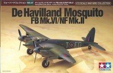Tamiya 60747 De Havilland Mosquito FB Mk.VI/NF Mk.II 1/72