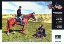 Master Box 3549 US Civil War series: Yankee scout and trucker (1:35)