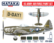 Hataka HTK-AS04 US Army Air Force paint set 4x17ml
