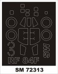 Montex SM72313 RF-84F Thunderflash SWORD 1:72