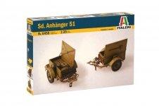 Italeri 6450 SD. ANHANGER 51  (1:35)